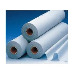 Draps d'examen plastifiés bleu - Carton de 6 rouleaux